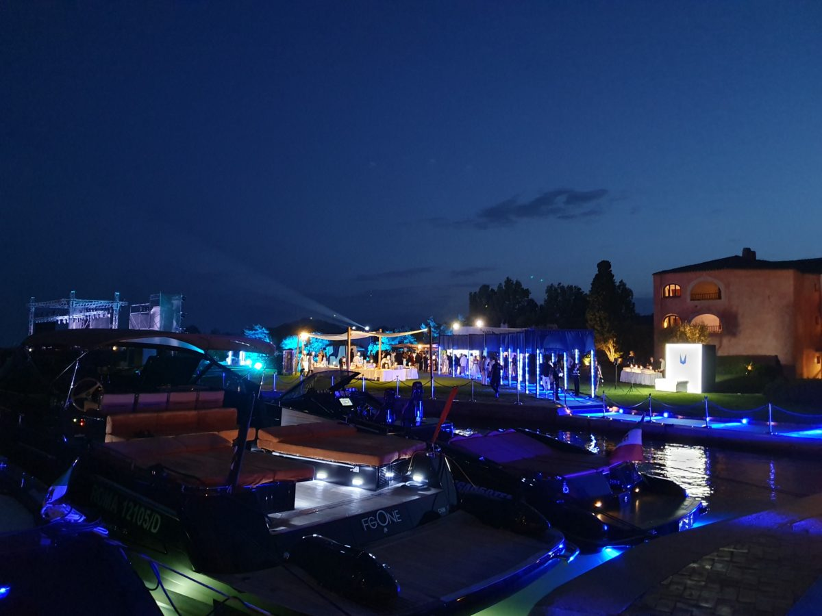 Great event last night at Hotel Cala Di Volpe