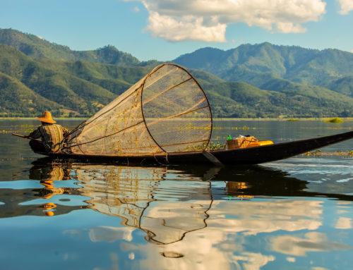 Complexe hôtelier à bâtir (Inle Lake, Birmanie)