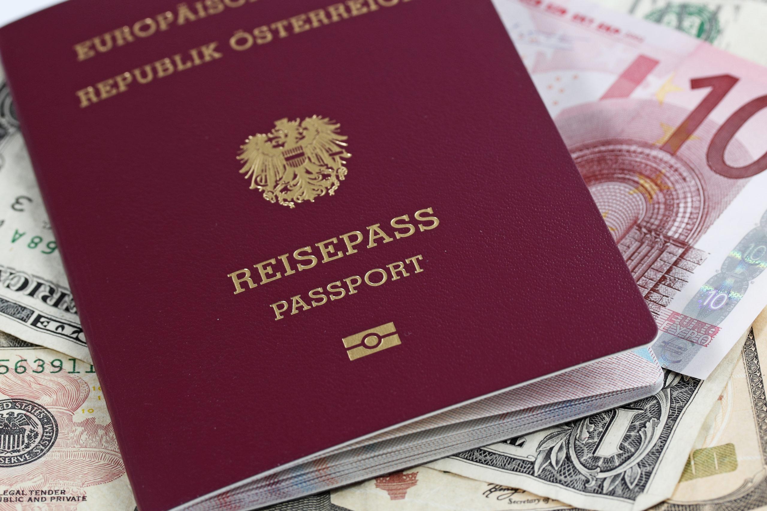 Le passeport autrichien, le graal de tout investisseur.